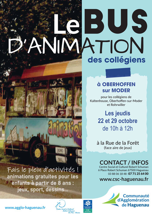 affiche bus animation 102020